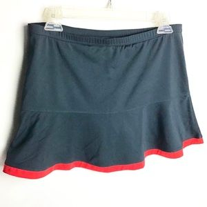 Bolle | Gray Athleisure Skort Size Small